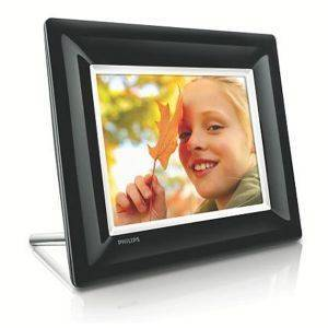 PHILIPS 8FF3FPB 8'' LCD PHOTO FRAME