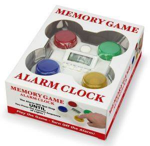 MEMORY GAME ALARM CLOCK