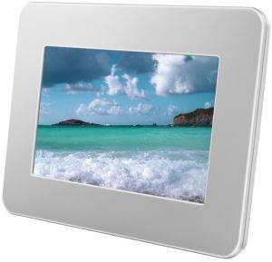 SAMSUNG SPF-71ES 7'' DIGITAL PHOTO FRAME WHITE