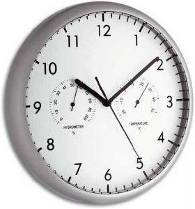 TFA 98.1072 WALL CLOCK WITH THERMOMETER AND HYGROMETER gadgets ρολογια τοιχου