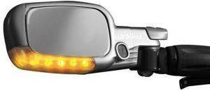 WIKI WINKKU BICYCLE LIGHTS MIRROR - INDICATORS LEFT HANDED SILVER gadgets ηλεκτρονικα με μπαταριεσ