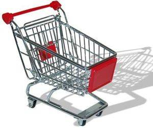 THUMBS UP SHOPPING TROLLEY