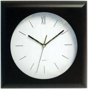 KARCE WL7104 SP WALL CLOCK BLACK