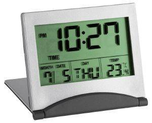 TFA 98.1054 MULTI-FUNCTIONAL DIGITAL TRAVEL ALARM CLOCK gadgets ρολογια επιτραπεζια