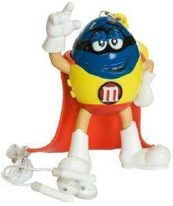M&MS FM SUPERHERO RADIO RED