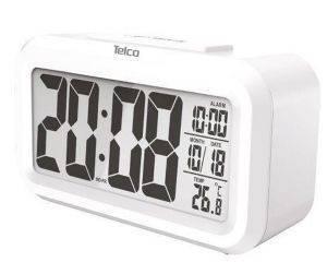 ΡΟΛ Ε0318S-2 TELCO SMART ΛΕΥΚΟΥ ΦΩΤΙΣΜΟΥ ΛΕΥΚΟ gadgets ρολογια επιτραπεζια