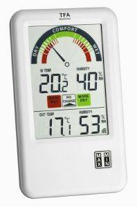 TFA 30.3045.IT BEL-AIR WIRELESS THERMO-HYGROMETER WITH VENTILATION TIP gadgets weather stations weather stations