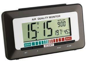TFA 60252710 RADIO CONTROLLED ALARM CLOCK WITH AIR QUALITY MONITOR gadgets ρολογια επιτραπεζια