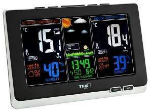 TFA 35.1129.01 SPRING RADIO WEATHER STATION gadgets weather stations weather stations