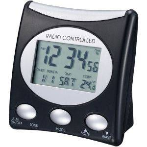 TECHNOLINE WT 221 T - RADIO CONTROLLED CLOCK BLACK