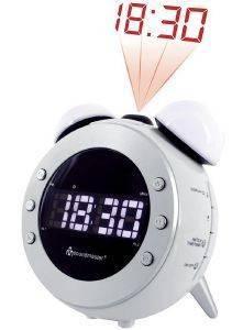 SOUNDMASTER UR140WS CLOCK RADIO WHITE gadgets ρολογια επιτραπεζια