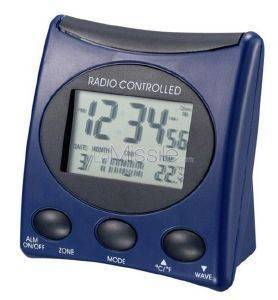 TECHNOLINE WT 221 - RADIO CONTROLLED CLOCK BLUE