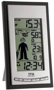 TFA 35.1084 WIRELESS WEATHER STATION gadgets weather stations weather stations