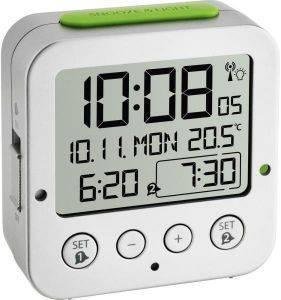 TFA 60.2528.54 BINGO FUNK ALARM CLOCK WITH TEMPERATURE gadgets ρολογια επιτραπεζια