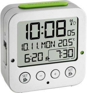 TFA 60.2528.54 BINGO FUNK ALARM CLOCK WITH TEMPERATURE