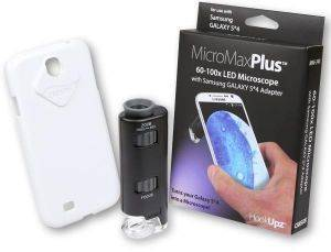 CARSON MM-240 MICROMAX PLUS MICROSCOPE 60-100X WITH SAMSUNG GALAXY S4 ADAPTER