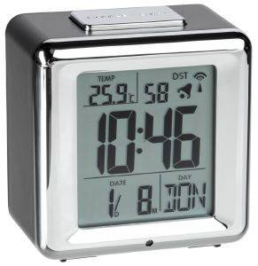 TFA 60.2503 RADIO CONTROLLED ALARM CLOCK WITH TEMPRATURE