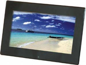 "BRAUN DIGIFRAME 1360 13.3"" PHOTO FRAME WITH SPEAKERS BLACK ACRYLIC gadgets ψηφιακεσ κορνιζεσ ψηφιακεσ κορνιζεσ"
