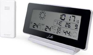 LIFE WES-200 WEATHER STATION WITH WIRELESS OUTDOOR SENSOR AND ALARM CLOCK