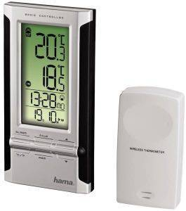 HAMA 104930 HAMA EWS-180 ELECTRONIC WEATHER STATION BLACK/SILVER