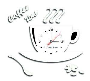 ESPERANZA EHC006W KITCHEN WALL CLOCK FLORENCE WHITE gadgets ρολογια τοιχου