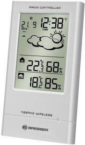 BRESSER TEMPTREND RC WEATHER STATION WEATHER STATION SILVER gadgets weather stations weather stations