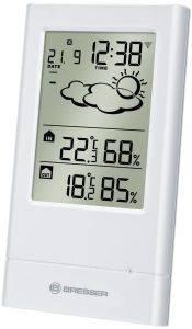 BRESSER TEMPTREND WIRELESS WEATHER STATION WHITE gadgets weather stations weather stations
