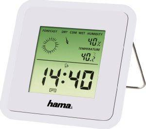 HAMA 113988 TH50 THERMOMETER/HYGROMETER WHITE