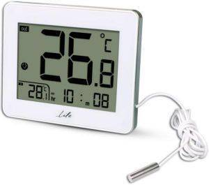LIFE WES-202 DIGITAL THERMOMETER WITH INDOOR AND OUTDOOR TEMPERATURE WHITE