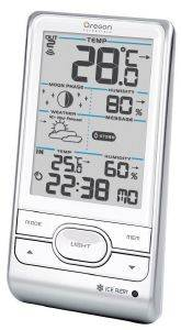 OREGON SCIENTIFIC BAR208HG_WH WIRELESS WEATHER STATION WITH HUMIDITY - WEATHER A gadgets weather stations weather stations