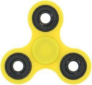 FIDGET SPINNER TOY YELLOW