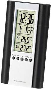 FIESTA 43569 LCD WEATHER STATION WIRED SENSOR BLACK