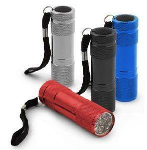 ESPERANZA EOT004M MINI ALUMINUM LED TORCH ALTAIR BLUE