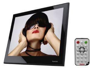 "HAMA 95249 97P DIGITAL PHOTO FRAME 9.7"" ACRYLIC MUSIC - VIDEO BLACK gadgets ψηφιακεσ κορνιζεσ ψηφιακεσ κορνιζεσ"