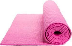 ΣΤΡΩΜΑ OPTIMUM YOGA MAT ΡΟΖ (173 X 61 X 0.6 CM) όργανα γυμναστικής ειδη yoga pilates στρωματα