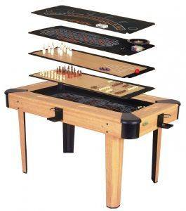 ΤΡΑΠΕΖΙ SOLEX MULTI GAMES TABLE