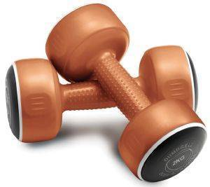 BAΡΑΚΙΑ BODY SCULPTURE SMART DUMBBELLS ΧΑΛΚΙΝΑ (2X2 KG)