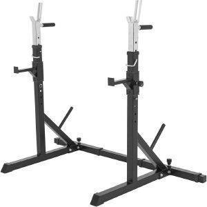 ΟΡΘΟΣΤΑΤΕΣ GORILLA SPORTS ADJUSTABLE SQUAT / BARBELL RACK