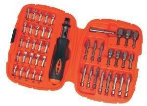 ΣΕΤ 45 ΤΕΜΑΧΙΩΝ ΜΕ ΕΞΑΡΤΗΜΑΤΑ BLACK - DECKER A7039 εργαλεία  amp  κήπος αναλωσιμα διατρησησ βιδωματοσ σετ εξαρτηματων