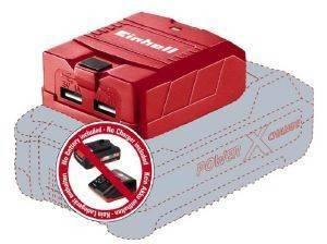 ΑΝΤΑΠΤΟΡΑΣ USB ΜΠΑΤΑΡΙΑΣ EINHELL TE-CP 18 LI USB SOLO ΤΗΣ ΣΕΙΡΑΣ POWER-X-CHANGE  εργαλεία  amp  κήπος αναλωσιμα διατρησησ βιδωματοσ λοιπα αναλωσιμα