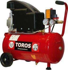ΑΕΡΟΣΥΜΠΙΕΣΤΗΣ TOROS ΕΜ24/2 24LT 2HP (40141) εργαλεία  amp  κήπος κομπρεσερ αεροσ με καζανι