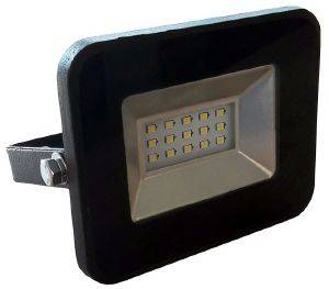 V-TAC 5877 10W LED FLOODLIGHT SMD BLACK BODY WHITE 6000K