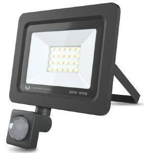FOREVER PROXIM II FLOODLIGHT LED IP66 20W 6000K SENSOR