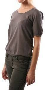 AMERICAN VINTAGE ΜΠΛΟΥΖΑ ΠΛΕΚΤΗ ΑΝΘΡΑΚΙ ένδυση  amp  υπόδηση προσφορεσ γυναικα μπλουζεσ πουλοβερ