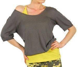 AMERICAN VINTAGE ΜΠΛΟΥΖΑ ΠΛΕΚΤΗ ΚΑΦΕ ένδυση  amp  υπόδηση προσφορεσ γυναικα μπλουζεσ πουλοβερ