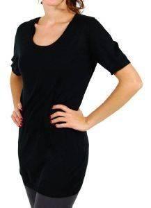 AMERICAN VINTAGE ΜΠΛΟΥΖΑ ΠΛΕΚΤΗ ΜΑΥΡΗ (S) ένδυση  amp  υπόδηση προσφορεσ γυναικα μπλουζεσ πουλοβερ