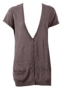 ΖΑΚΕΤΑ AMERICAN VINTAGE ΚΑΦΕ (S) ένδυση  amp  υπόδηση προσφορεσ γυναικα μπουφαν ζακετεσ