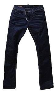 TZIN TAKESHY KUROSAWA ΜΠΛΕ ΣΚΟΥΡΟ ΜΕ ΚΟΚΚΙΝΕΣ ΛΕΠΤΟΜΕΡEΙΕΣ ένδυση   υπόδηση προσφορεσ ανδρασ jeans straight jeans