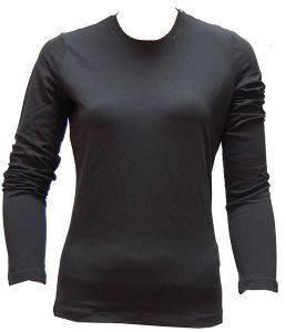 CALVIN KLEIN ΜΠΛΟΥΖΑ ΓΚΡΙ ΜΕ ΛΑΙΜΟΚΟΨΗ ένδυση  amp  υπόδηση προσφορεσ γυναικα μπλουζεσ μπλουζεσ μακρυμανικεσ