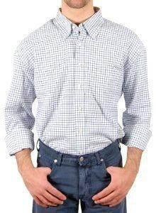 ΠΟΥΚΑΜΙΣΟ ΜΑΚΡΥΜΑΝΙΚΟ GANT ΜΠΛΕ ΚΑΡΟ  XXXL Πουκάμισο Gant Καρό Ένα κλασσικό πουκάμισο  από εξαιρετικής ποιότητας ύφασμα με κανονική εφαρμογή Με καρό σχέδιο στις αποχρώσεις του μπλε Έχει μακρύ μ
